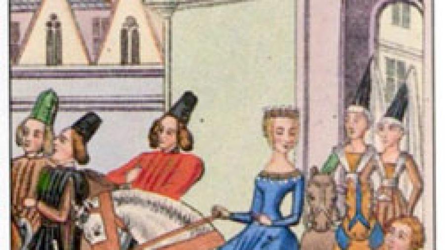 Medieval-Lady
